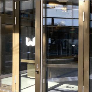 Eingangsbereich Dienstleistungsfirma